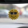 smiley sun hanging air freshener